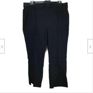 Michael Kors Women Pull On Capri Pants Black Sz 12